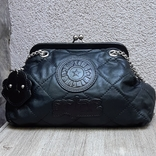 Кожаная сумка Kipling в винтажном стиле., фото №2