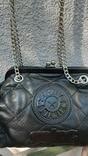 Кожаная сумка Kipling в винтажном стиле., фото №9