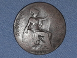 Великобритания ½ пенни 1924 года, фото №4