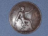 Великобритания 1 пенни 1920 года, фото №2