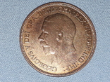Великобритания 1 пенни 1936 года, фото №5
