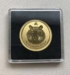 Год Тигра 2010 год Австралия 50 $ золото 1/2 унции 9999', фото №2