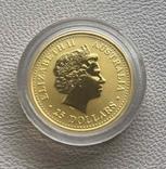 Год Собаки Австралия 2006 год 25$ 1/4 унции 9999' золото, фото №3
