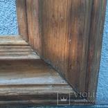Рама для картины дубовая, 67 х 53,5 см(52х38,5), фото №5
