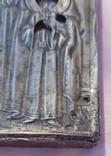 """Икона """"Покров Пресвятой Богородицы"""". Серебряный оклад, фото №5"""