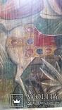 Ікона Юрій Змієборець, Чернігівщина, 52,5х42,5 см, фото №4