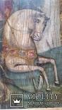 Ікона Юрій Змієборець, Чернігівщина, 52,5х42,5 см, фото №5