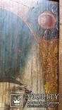 Ікона Юрій Змієборець, Чернігівщина, 52,5х42,5 см, фото №7