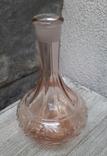 Флакон для духов ,розовое стекло, фото №2