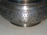 Сахарница серебро 84, фото №12