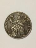 1774 год в память заключения мира с Турцией копия жетон 026, фото №2