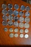 Набір пам'ятних монет різних років (29 монет), фото №2