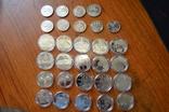 Набір пам'ятних монет різних років (29 монет), фото №3