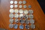 Набір пам'ятних монет різних років (29 монет), фото №4