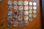 Набір пам'ятних монет різних років (29 монет), фото №9