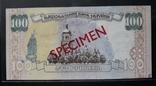 100 гривень 1996 года Зразок, фото №3