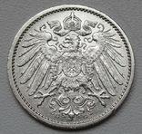 1 марка 1914 г. (G), Германия, серебро, фото №9