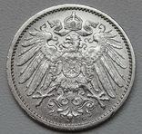 1 марка 1914 г. (G), Германия, серебро, фото №10