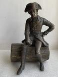 Бронзовая скульптура военного. Европа, фото №2
