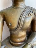 Скульптура статуэтка Будда старинная авторская подписная, фото №7
