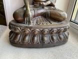 Скульптура статуэтка Будда старинная авторская подписная, фото №10