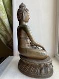 Скульптура статуэтка Будда старинная авторская подписная, фото №13