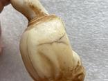 Резное изделие мудрец слоновая кость, фото №12