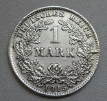 1 марка 1915 г. (D), Германия, серебро, фото №6