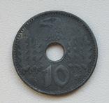 10 пфеннигов 1940 г. Третий рейх (для оккупированных территорий), фото №2