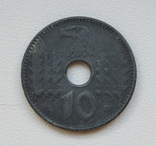10 пфеннигов 1940 г. Третий рейх (для оккупированных территорий), фото №4