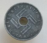 10 пфеннигов 1940 г. Третий рейх (для оккупированных территорий), фото №5