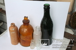 Бутылочки Бактериологическая станция Одесса, Керковус Рига +, фото №2
