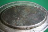 Большой поднос глубокое сребрение., фото №3