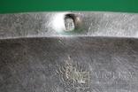 Большой поднос глубокое сребрение., фото №6