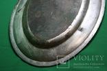 Большой поднос глубокое сребрение., фото №10