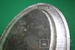 Большой поднос глубокое сребрение., фото №11