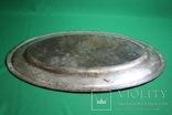 Большой поднос глубокое сребрение., фото №12