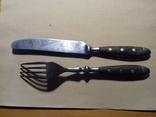Немецкие нож вилка 30х годов, фото №3