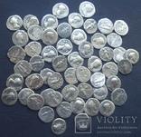 Монеты Древнего Рима (денарии) 55 штук., фото №2