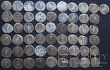 Монеты Древнего Рима (денарии) 55 штук., фото №7