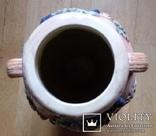 Глечик, ваза, майоліка, H42 см, Ф21 см, фото №6