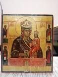 """Икона """"Богородица Умягчение злых сердец"""". 18*15.5., фото №3"""