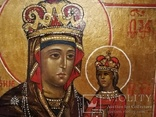 """Икона """"Богородица Умягчение злых сердец"""". 18*15.5., фото №9"""