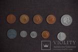 Мини коллекция монет Бельгии, Голландии и Великобритании. 22 монеты., фото №5