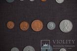 Мини коллекция монет Бельгии, Голландии и Великобритании. 22 монеты., фото №7