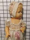 Целлулоидная кукла ОХК в старинном антикварном наряде, фото №11