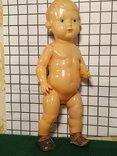 Целлулоидная кукла ОХК в старинном антикварном наряде, фото №12