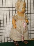 Целлулоидная кукла ОХК в старинном антикварном наряде, фото №13