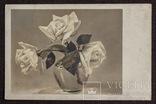 Ретро открытка с натюрмортом. 1940-е., фото №2