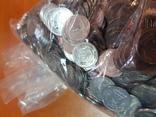 1 копейка Украина 1000 монет в опломбированном банковском мешке фото 4
